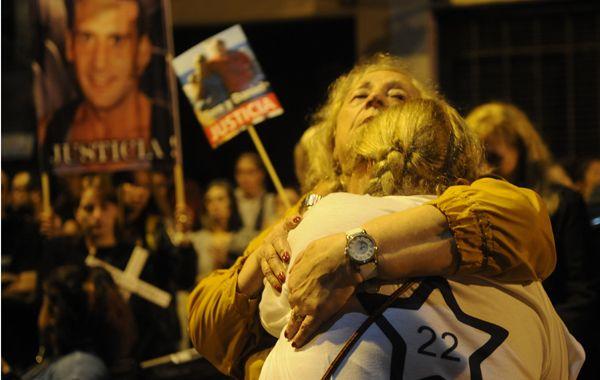El acto convocó a familiares y allegados de las 22 víctimas. (Foto: F. Guillén)