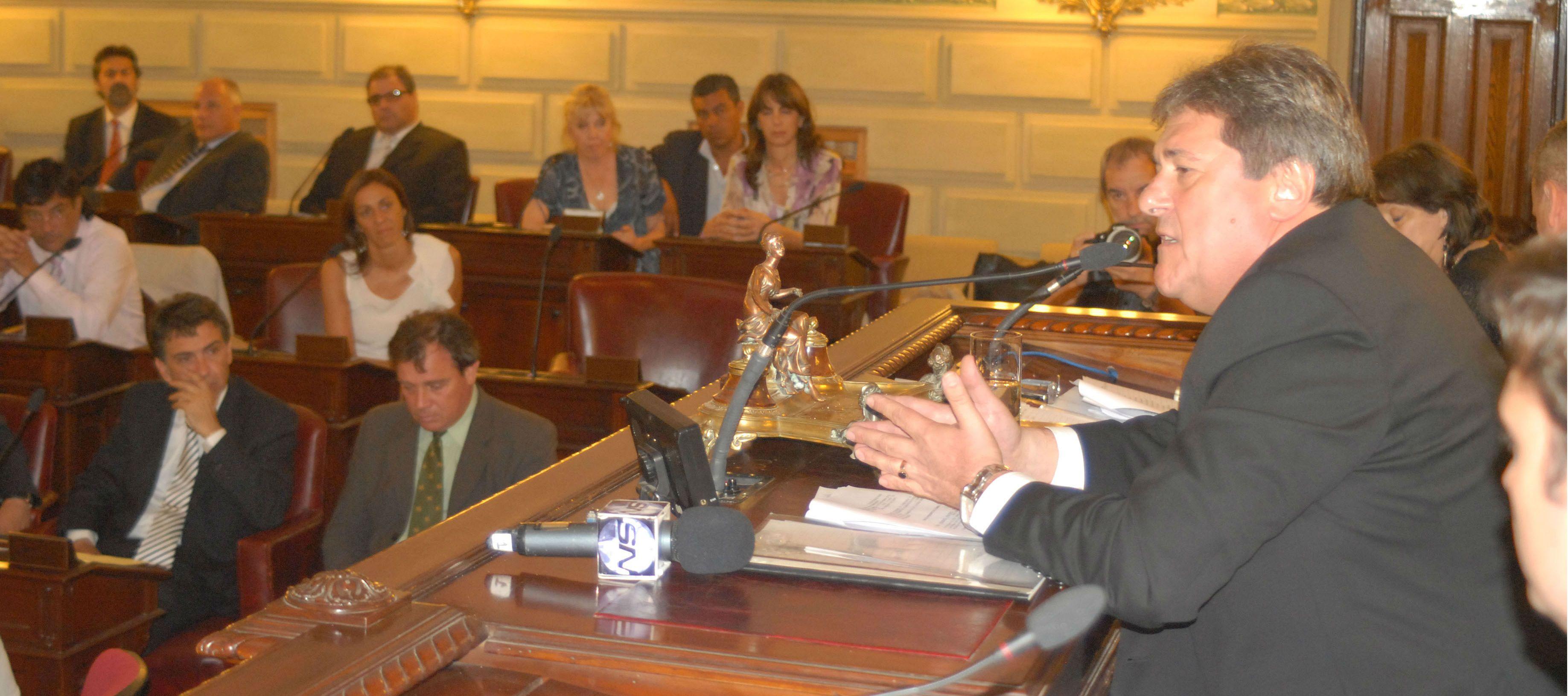 Rubeo adelantó que el 6 de septiembre se tratará el proyecto de reforma tributaria en Diputados.