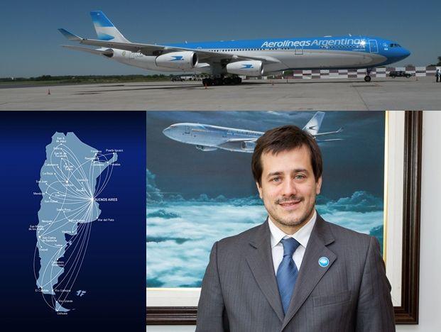 Recalde destacó que ocho de cada diez pasajeros eligen Aerolíneas Argentinas