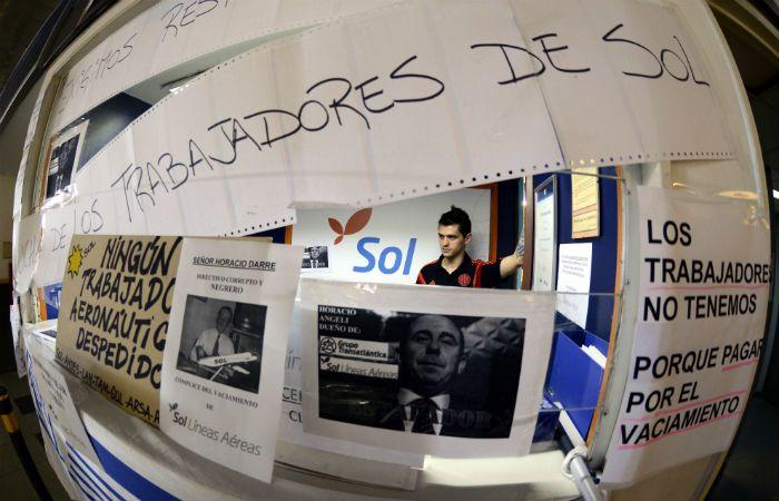 Los trabajadores de Sol y los titulares de la empresa volverán a reunirse el Lunes en Trabajo. (Foto: DyN)