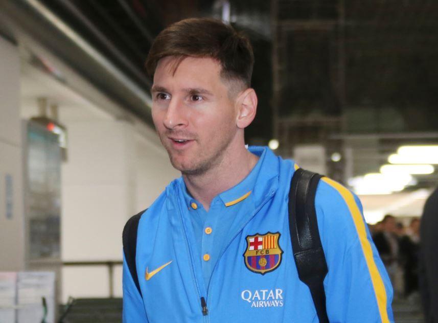 """Messi escribió en las redes  sociales que espera """"estar al cien por ciento para ayudar"""" a  Barcelona """"en la final"""" ante River."""