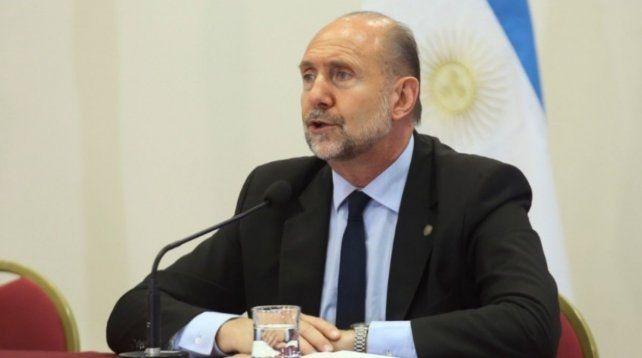 El gobernador Omar perotti hizo anuncios en el marco de la pandemia de coronavirus.