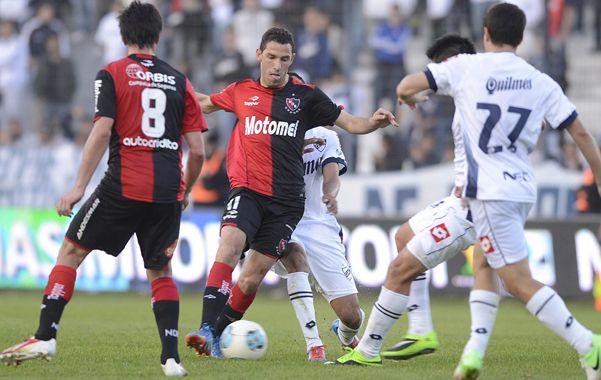 Maxi fue otra vez uno de los puntos altos del equipo. (Foto: F. Guillén)