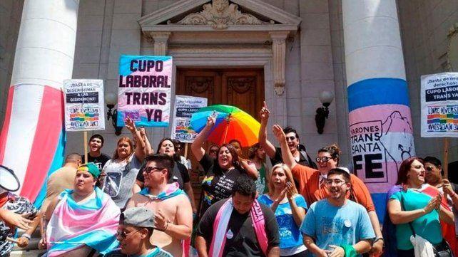 La comunidad trans celebró en su momento la implementación del cupo en la provincia.
