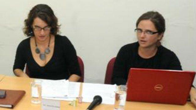 Gabriela Durruty y Jesica Pellegrini