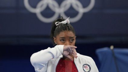 La gimnasta contó que sintió una fuerte presión psicológica ante el reto de sus finales en Tokio.