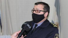 Ariel Zancocchia, subjefe de la Policía de Santa Fe y ahora sospechado en una causa por venta de autopartes de patrulleros.