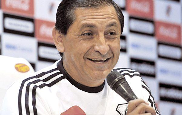 Auténtico. El riojano dijo que le interesa Santiago Silva como refuerzo.