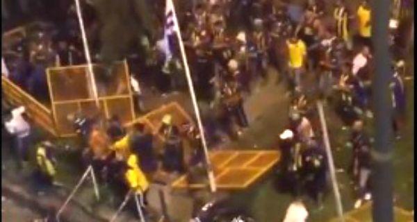Hubo maltratos de la policía uruguaya hacia la gente de Central, la historia se tiene que contar completa