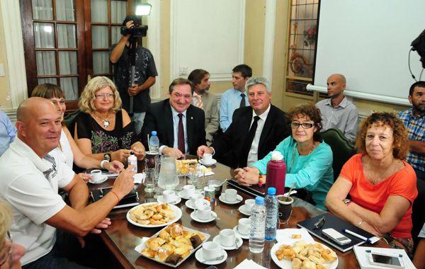 Alesso participó hoy de la paritaria donde la provincia hizo el nuevo ofrecimiento.