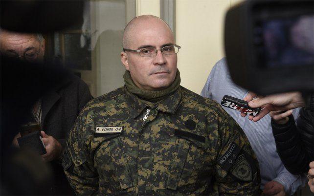 Nuevo jefe de la URII. Adrián Forni fue jefe de la Tropa de Operaciones Especiales
