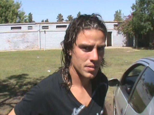 En la prueba de fútbol, Sperduti jugó por Dolci y Mateo espera una semana más