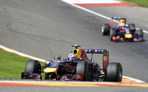 El australiano Ricciardo ganó el Gran Premio de Bélgica de la Fórmula Uno
