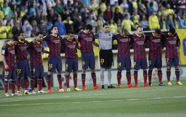 Barcelona recordó a Vilanova