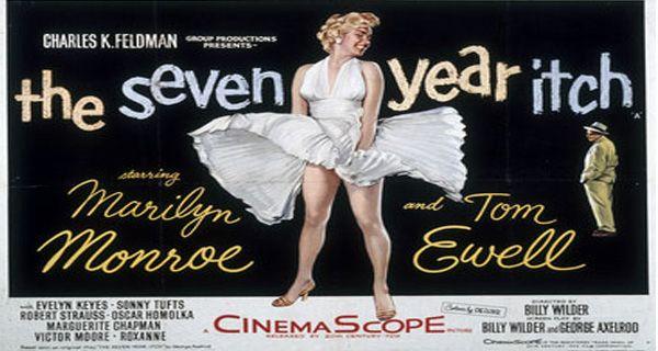 Tesoros de Hollywood: subastarán el famoso vestido que se le voló a Marilyn Monroe