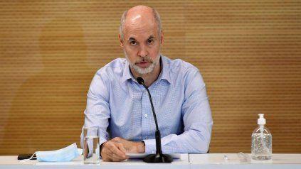 Rodríguez Larreta ratificó que este lunes abrirán las escuelas de la Ciudad de Buenos Aires.