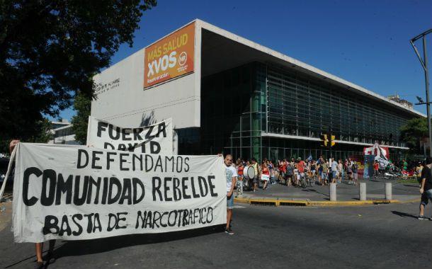 Protesta. El miércoles hubo una marcha de los allegados a Sergio Muñoz.