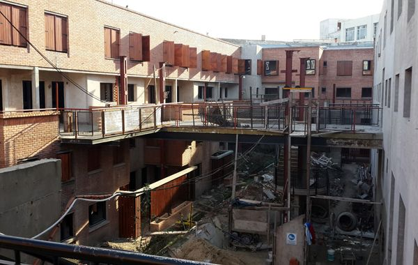 Autogestión. La federación de cooperativas del MOI nació con la construcción de viviendas en Buenos Aires