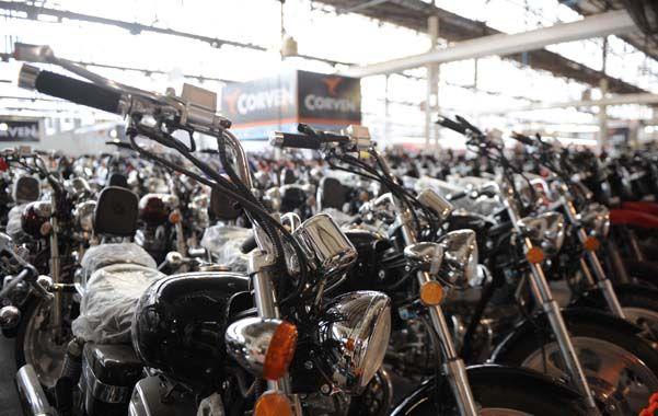 consumo. La venta de motos fue afectada luego de la devaluación. El mercado busca repuntar gradualmente.