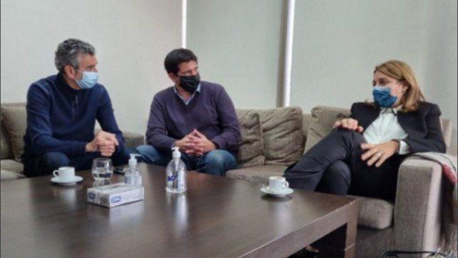 Fein se reunió hoy al mediodía con Randazzo en la Capital Federal. El dirigente peronista se encargó de publicitarla en las redes sociales