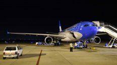 La salida de la primera aeronove desde Ezeiza se producía cerca de las 21.30.