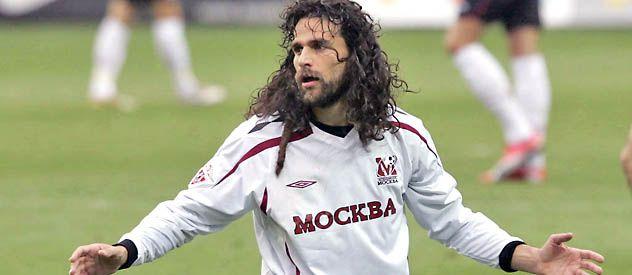 El delantero Héctor Bracamonte se incorpora hoy a préstamo tras jugar en Rusia desde 2004.