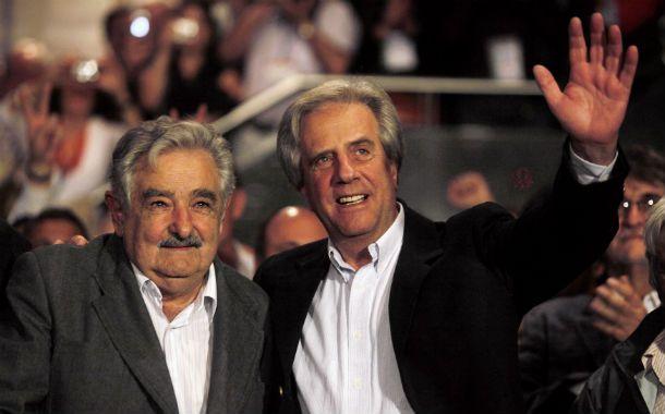 """El ex presidente Tabaré Vásquez (2005-2010) volverá a competir por el Frente Amplio para suceder a  """"Pepe"""" Mujica."""