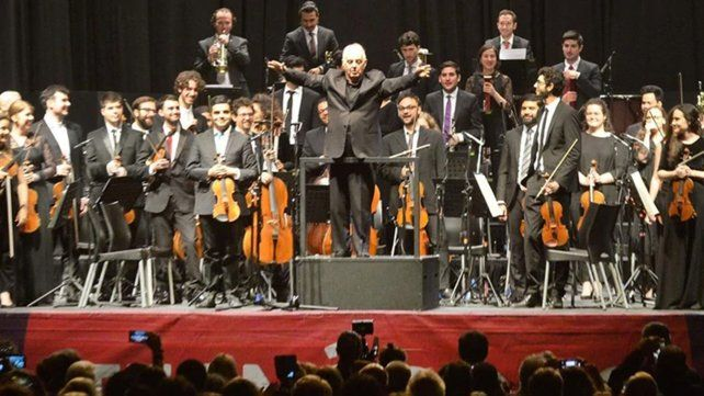 Barenboim conmovió con la obra de Beethoven en Tecnópolis