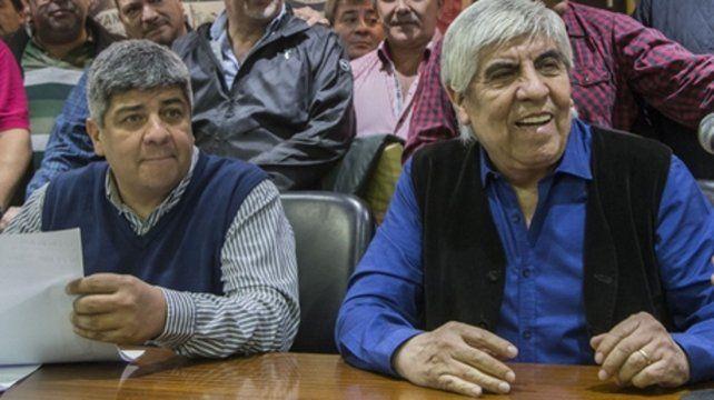 La respuesta. Hugo Moyano insistió en que el pedido de arresto a su hijo Pablo