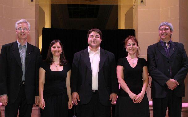 Amplia trayectoria. Los talentosos músicos que conforman el quinteto.