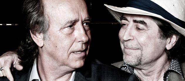 Joan Manuel Serrat y Joaquín Sabina evaluaron en Buenos Aires con Escenario la gira argentina.