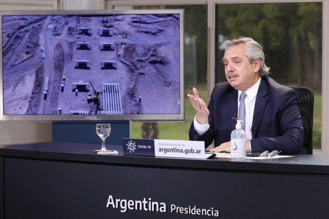 Alberto Fernández anunció que se trabaja con el FMI para poner en orden las cuentas
