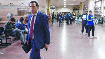 Fausto Yrure, abogado defensor de Ariel Máximo Guille Cantero.