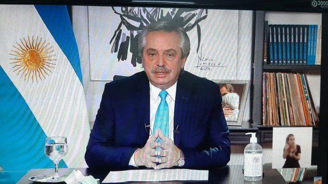 El presidente Alberto Fernández dijo que los chicos con capacidades diferentes no entienden los protocolos sanitarios por el Covid-19.