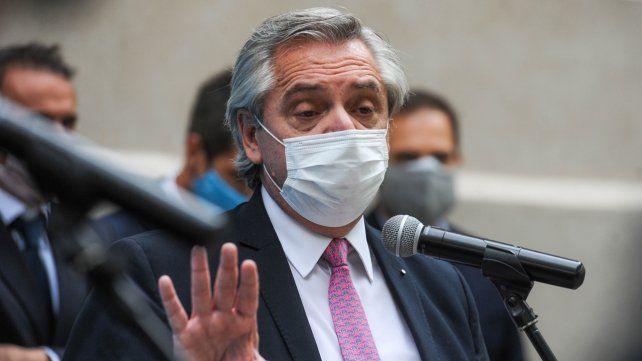 El presidente Alberto Fernández cuestionó la sentencia de la Corte.