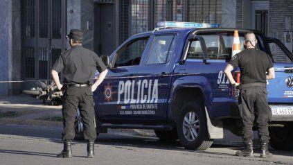 Agradecimiento a policías