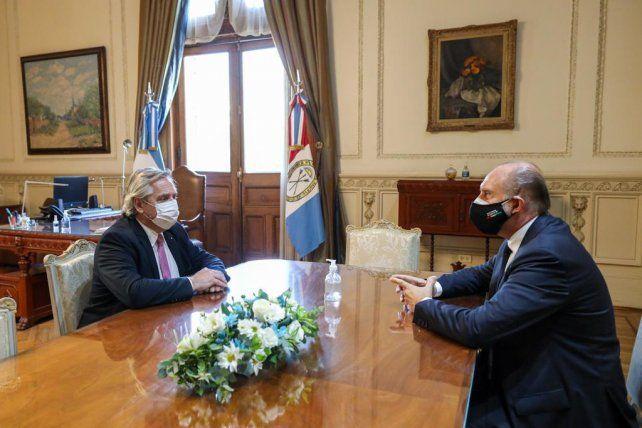 El presidente y el gobernador estuvieron reunidos más de una hora.