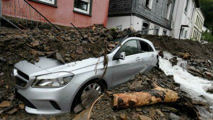 Los daños materiales son enormes en el oeste de Alemania, y los muertos superarían rápidamente los 43 actuales.