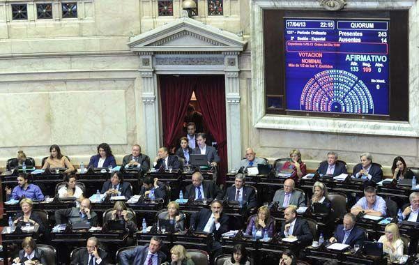 Voto por tres. Diputados aprobó sin inconvenientes los proyectos del gobierno para democratizar la Justicia.