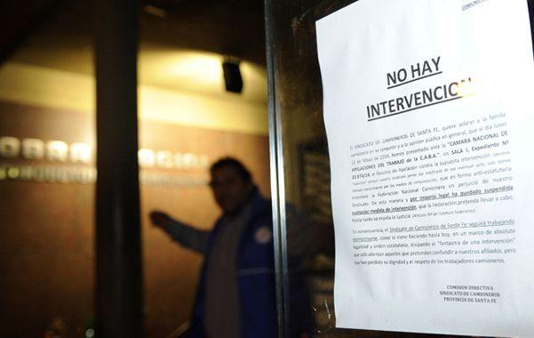 Comunicado. La actual conducción del sindicato busca marcar su posición. (foto: Héctor Rio)