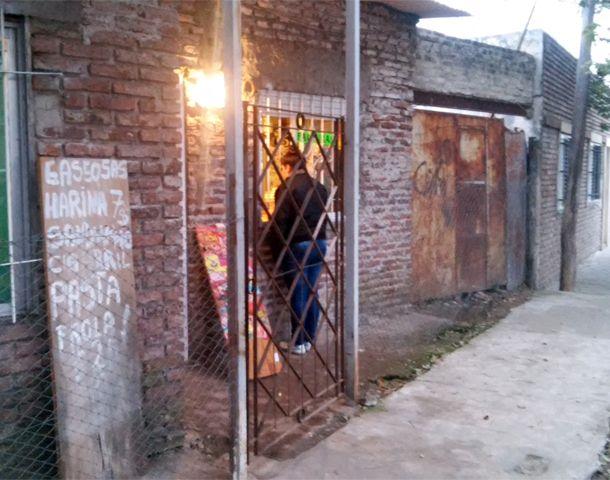 El humilde local ubicado en Ameghino al 2900