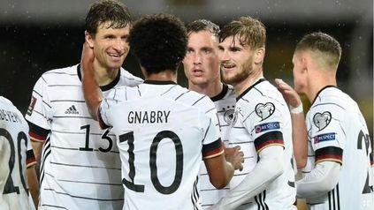 Alemania clasificó gracias a los goles de Havertz, Timo Werner (2) y Musiala.