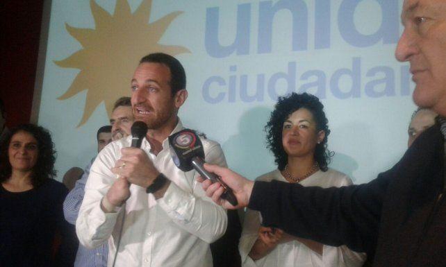 El candidato de Unidad Ciudadana recalcó que la gestión socialista está agotada en la ciudad.
