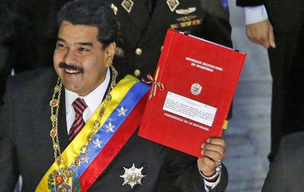 Solicitud. Maduro acude a la Asamblea Nacional en busca de más poderes.