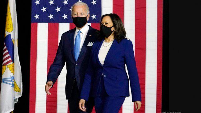 Fernández felicitço a la fórmula JOe Biden-Kamala Harris