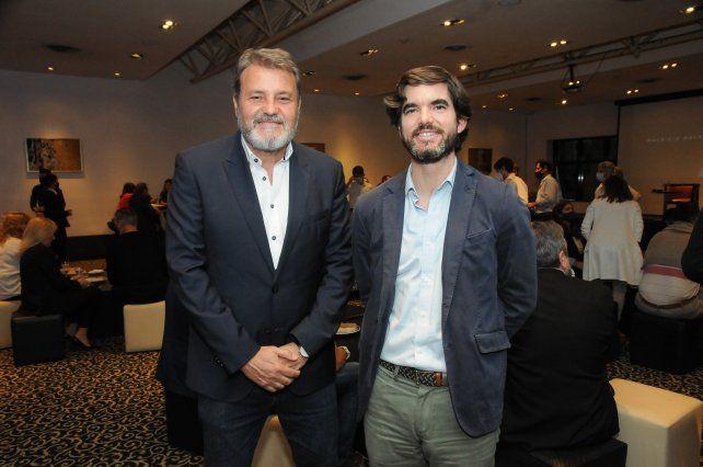 Agapito Blanco y Jaime Gonzalez Castaño