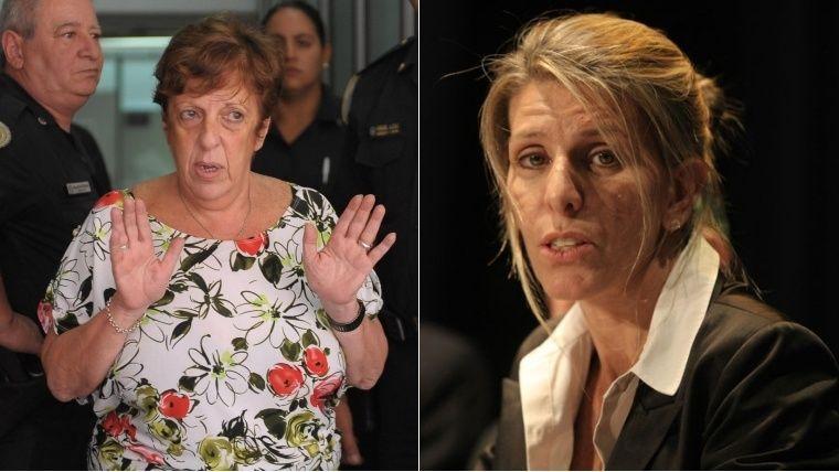 Fein y Arroyo Salgado estuvieron cara a cara.