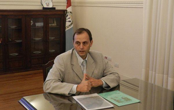 Senador provincial Hugo Rasseto.