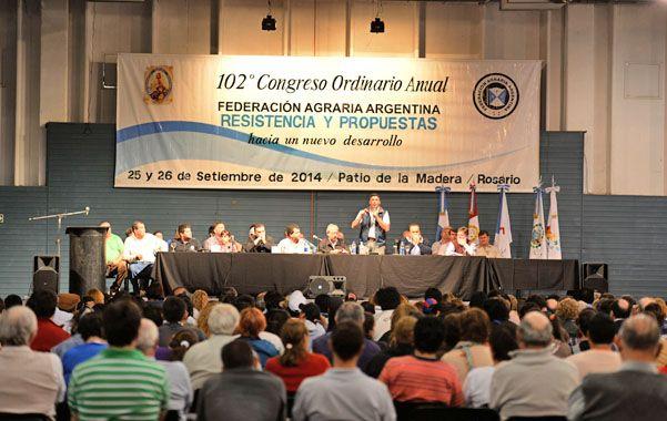 El 102º congreso será el último presidido por Buzzi
