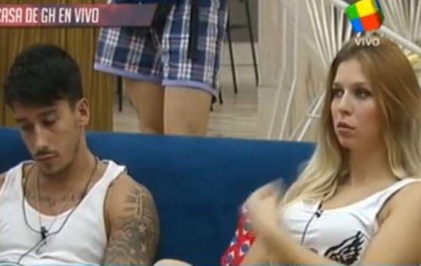 Romina y Nicolás casi se van a las manos. Ella fue sancionada.